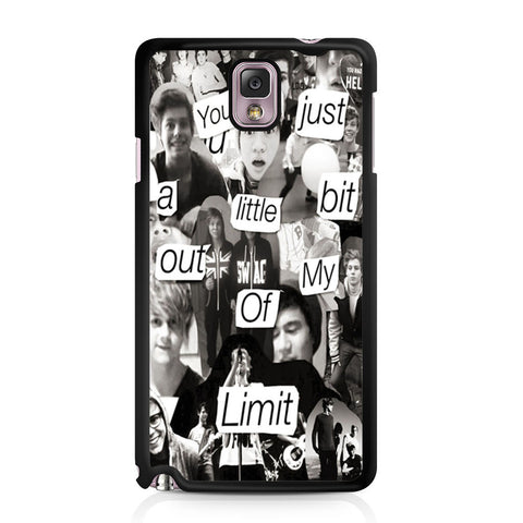 5 Seconds Of Summer Collage Samsung Galaxy Note 3 case
