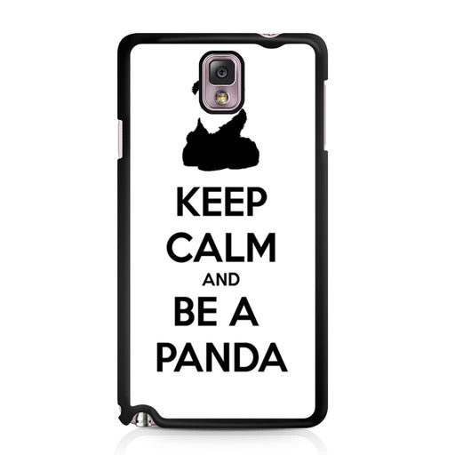 Keep Calm and Be A Panda Samsung Galaxy Note 3 case