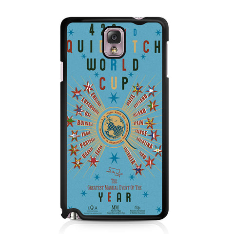 422nd Quidditch World Cup Poster Samsung Galaxy Note 3 case