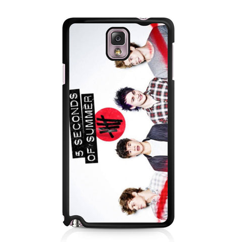 5 Seconds of Summer 5SOS Band Samsung Galaxy Note 3 case