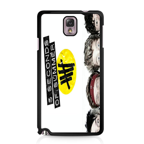 5 Seconds of Summer 5SOS Funny Eyes Samsung Galaxy Note 3 case