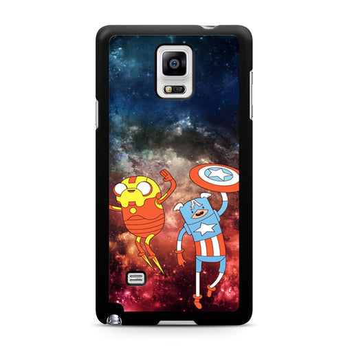 Adventure Time Avenger In Galaxy Space Samsung Galaxy Note 4 case