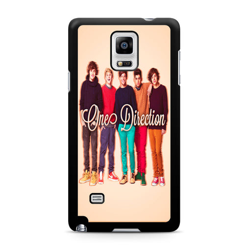 1D One Direction Personnel Samsung Galaxy Note 4 case