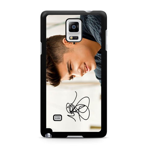 1D Zayn Malik Signature Samsung Galaxy Note 4 case