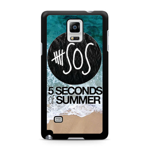 5 Seconds of Summer Band The Beach Samsung Galaxy Note 4 case