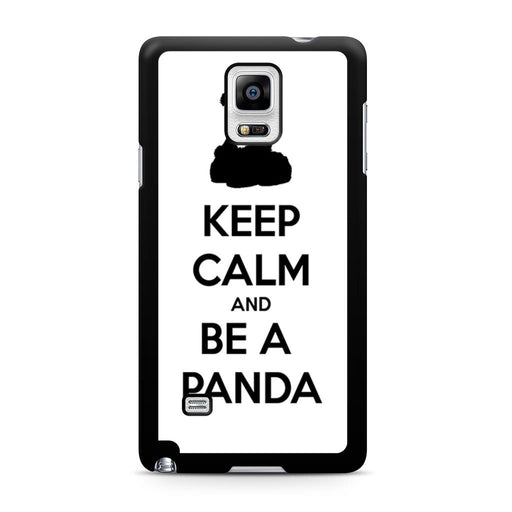 Keep Calm and Be A Panda Samsung Galaxy Note 4 case