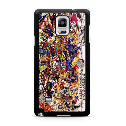 All Characters Avengers Samsung Galaxy Note 4 case