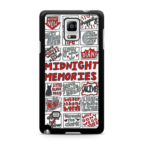 1D Midnight Memories Collage Samsung Galaxy Note 4 case