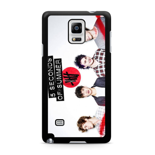 5 Seconds of Summer 5SOS Band Samsung Galaxy Note 4 case