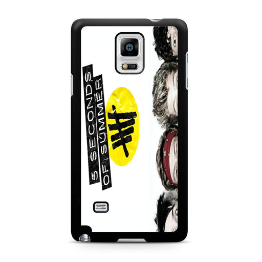 5 Seconds of Summer 5SOS Funny Eyes Samsung Galaxy Note 4 case