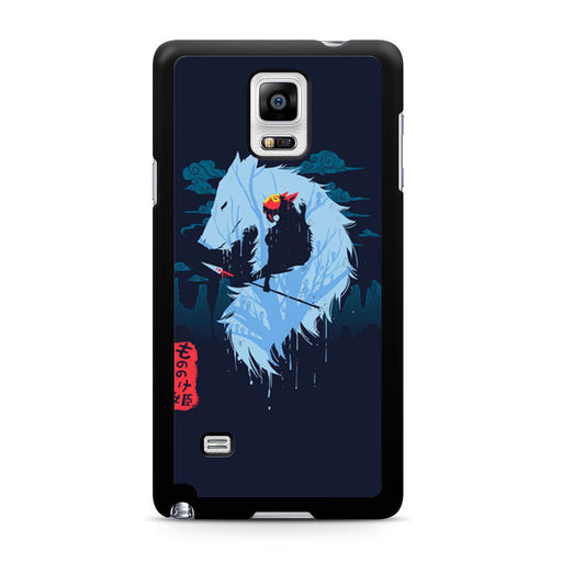 Hime Princess Mononoke Samsung Galaxy Note 4 case