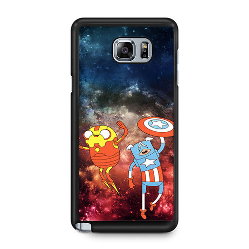 Adventure Time Avenger In Galaxy Space Samsung Galaxy Note 5 case