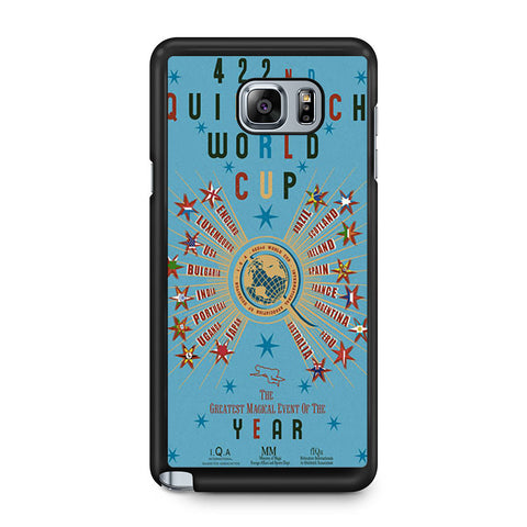422nd Quidditch World Cup Poster Samsung Galaxy Note 5 case