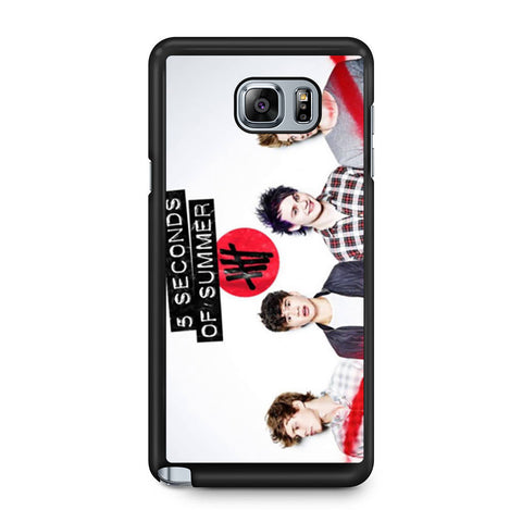 5 Seconds of Summer 5SOS Band Samsung Galaxy Note 5 case