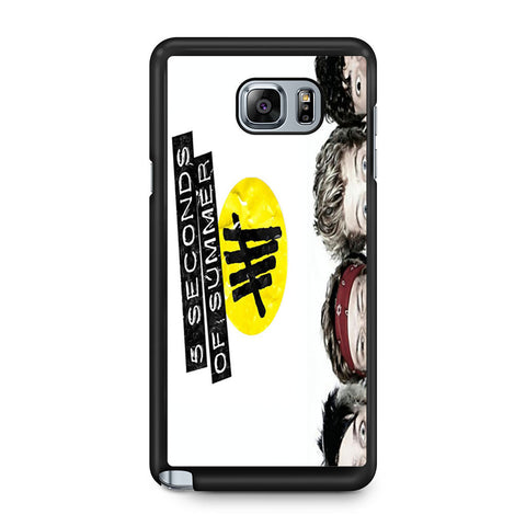 5 Seconds of Summer 5SOS Funny Eyes Samsung Galaxy Note 5 case
