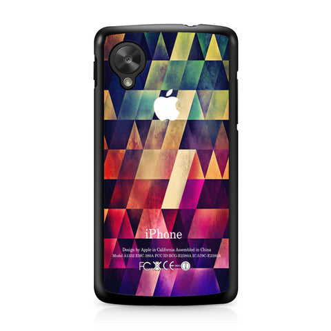 Abstract Apple Geometric Nexus 5 case