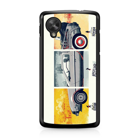 Back To The Future DeLorean DMC 12 Nexus 5 case