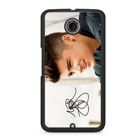 1D Zayn Malik Signature Nexus 6 case