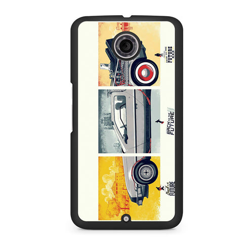 Back To The Future DeLorean DMC 12 Nexus 6 case
