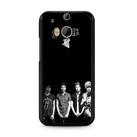5 Seconds of Summer B/W Photograph HTC One M8 case