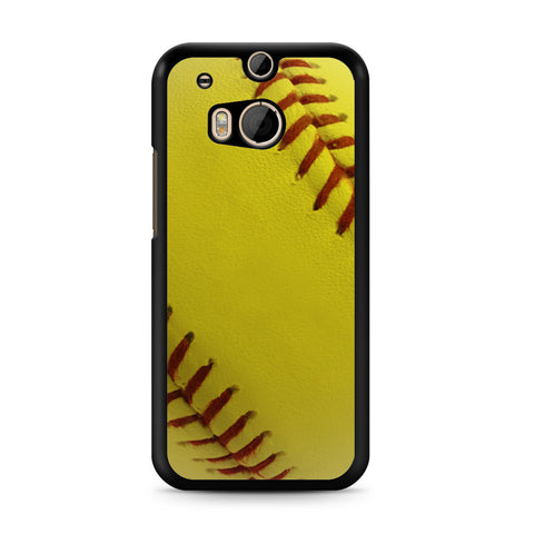 Ball Baseball Yelow HTC One M8 case