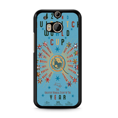 422nd Quidditch World Cup Poster HTC One M8 case