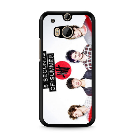 5 Seconds of Summer 5SOS Band HTC One M8 case