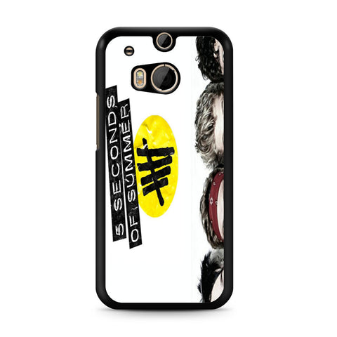 5 Seconds of Summer 5SOS Funny Eyes HTC One M8 case