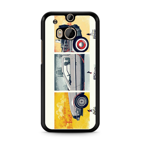 Back To The Future DeLorean DMC 12 HTC One M8 case