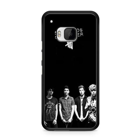 5 Seconds of Summer B/W Photograph HTC One M9 case
