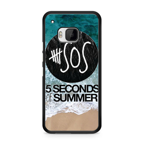 5 Seconds of Summer Band The Beach HTC One M9 case