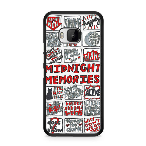 1D Midnight Memories Collage HTC One M9 case