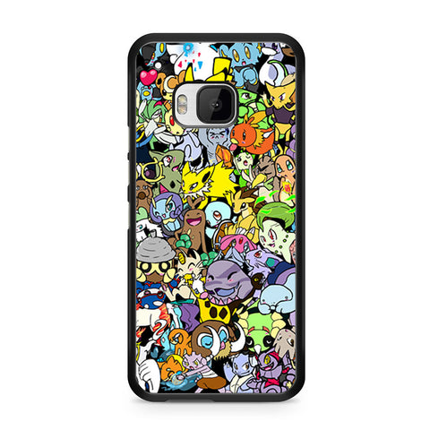 Adorable Pokemon Character HTC One M9 case