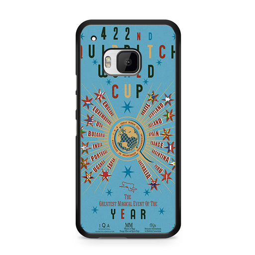 422nd Quidditch World Cup Poster HTC One M9 case