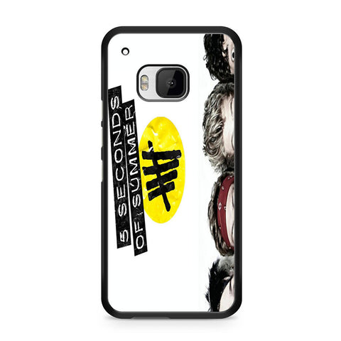5 Seconds of Summer 5SOS Funny Eyes HTC One M9 case