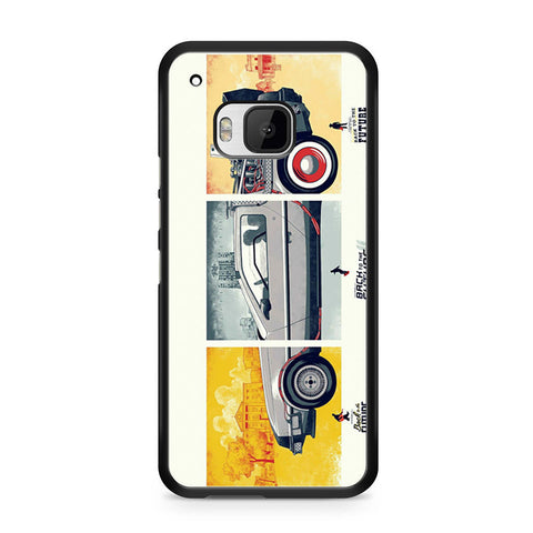 Back To The Future DeLorean DMC 12 HTC One M9 case
