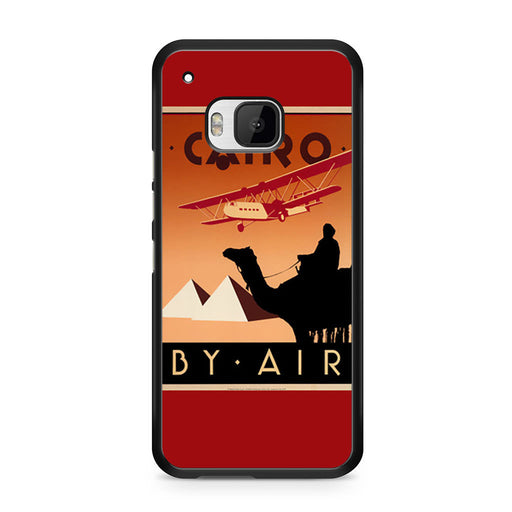 Cairo Egypt Vintage Travel Poster HTC One M9 case