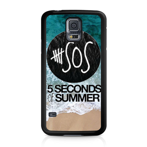 5 Seconds of Summer Band The Beach Samsung Galaxy S5 case