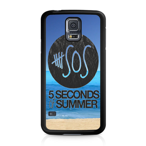 5 Seconds of Summer Beach Samsung Galaxy S5 case