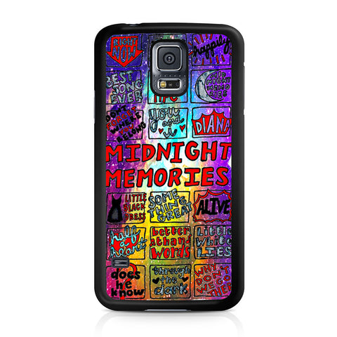 1d Midnight Memories Collage Samsung Galaxy S5 case