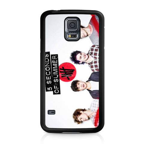 5 Seconds of Summer 5SOS Band Samsung Galaxy S5 case