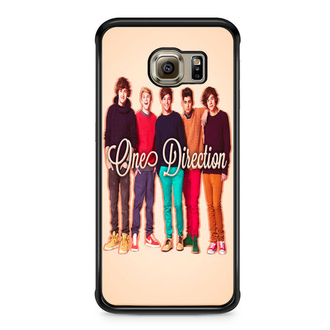 1D One Direction Personnel Samsung Galaxy S6 Edge case