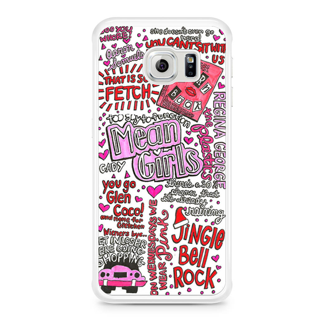 samsung galaxy s6 phone cases for girls. mean girls lyrics samsung galaxy s6 edge case phone cases for m
