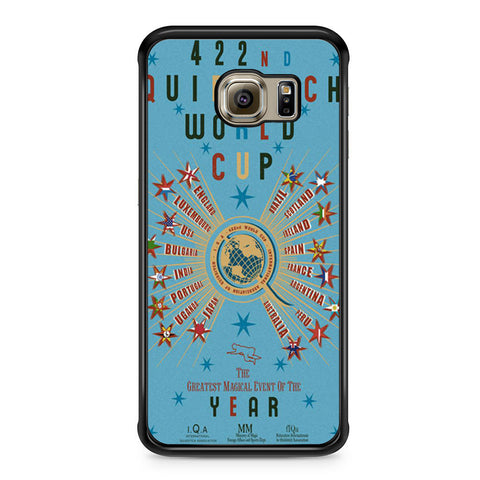 422nd Quidditch World Cup Poster Samsung Galaxy S6 Edge case