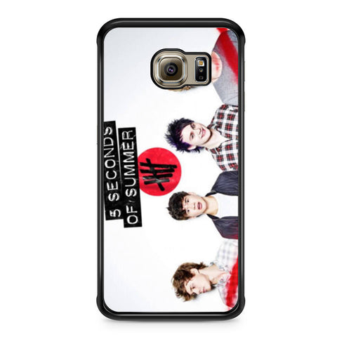 5 Seconds of Summer 5SOS Band Samsung Galaxy S6 Edge case