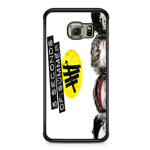 5 Seconds of Summer 5SOS Funny Eyes Samsung Galaxy S6 Edge case