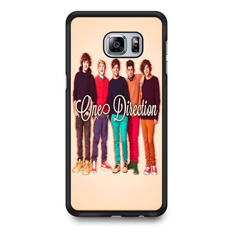 1D One Direction Personnel Samsung Galaxy S6 Edge Plus case