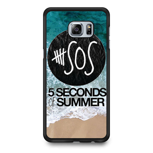 5 Seconds of Summer Band The Beach Samsung Galaxy S6 Edge Plus case