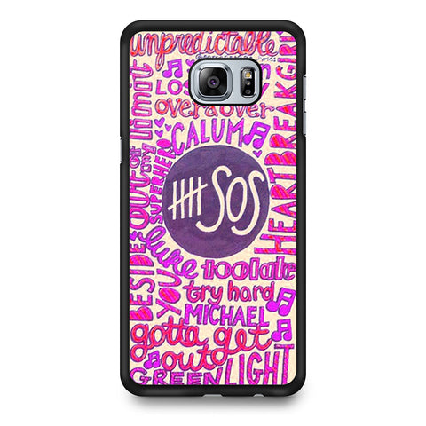 5 Seconds Of Summer Collage 2 Samsung Galaxy S6 Edge Plus case