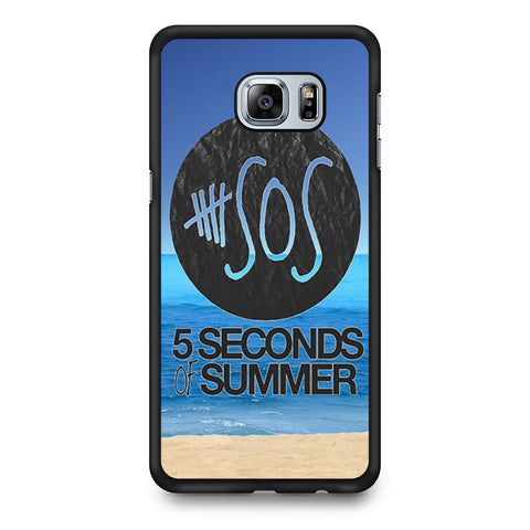 5 Seconds of Summer Beach Samsung Galaxy S6 Edge Plus case